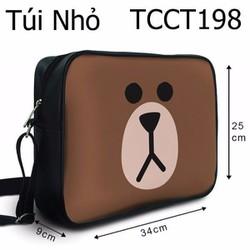 Túi chéo Mặt gấu Brown HOT - VTCCT198