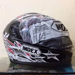 Mũ bảo hiểm Index Thailand đen