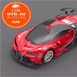Xe biến hình Transformer có điều khiển từ xa - Bugatti màu đỏ