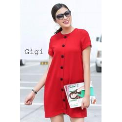 Đầm suông công sở Gigi