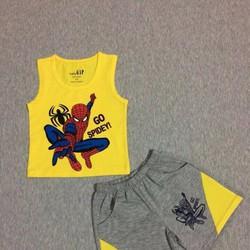 Bộ lửng Spiderman cho bé trai