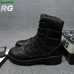 Boot cổ cao giầy lính đi phượt - giầy RG chuyên dùng lính SWAT Mỹ