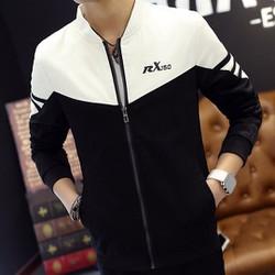 áo khoác jacket cổ trụ rx150 Mã: NK0876 - TRẮNG