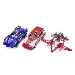 Combo 3 mô hình xe hơi đua _máy bay chạy trớn đặc biệt