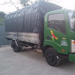 Xe tải veam vt350 tải trọng 3.5 tấn động cơ hyundai thùng dài 4m8