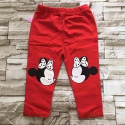 quần legging dài in mickey - qg102 [8-26kg]