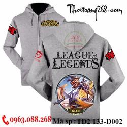 áo khoác liên minh huyền thoại