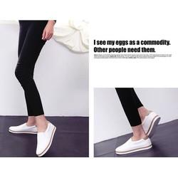 giày slip on siêu mềm siêu nhẹ