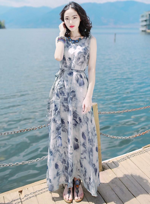 Đầm Maxi chào hè cháy hàng với phong cách nổi bật và gợi cảm - 2