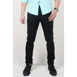 Quần kaki nam màu đen, co giãn 16KH155