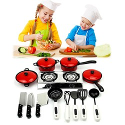 Trọn bộ đồ chơi bếp ga và đồ dùng nhà bếp cỡ lớn cho bé