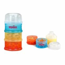 HỘP ĐỰNG SỮA 3 NGĂN KHÔNG BPA UPASS UP8001C_045
