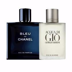 Combo 2 chai nước hoa Bleu và Gio