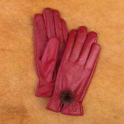 Găng tay da cừu nữ cao cấp