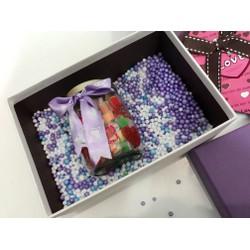 Quà valentine kẹo art 150g+ hộp+ làm tên lên hủ theo yêu cầu