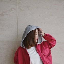 Áo Khoác Kaki New Style Nữ - Màu Đỏ thời trang 2AKD22