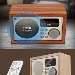 Máy nghe nhạc Bluetooth kèm đài FM Loci - Đồng hồ báo thức