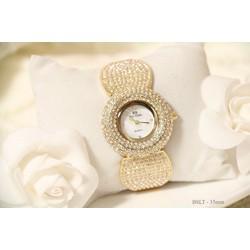 đồng hồ thời trang bs đính hạt đá cao cấp