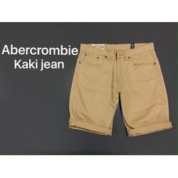 quần short jean kaki