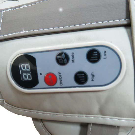 Đai massage vai Upapa Hug các chế độ điều khiển