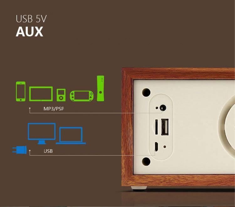 Loa Bluetooth kèm đài FM 16