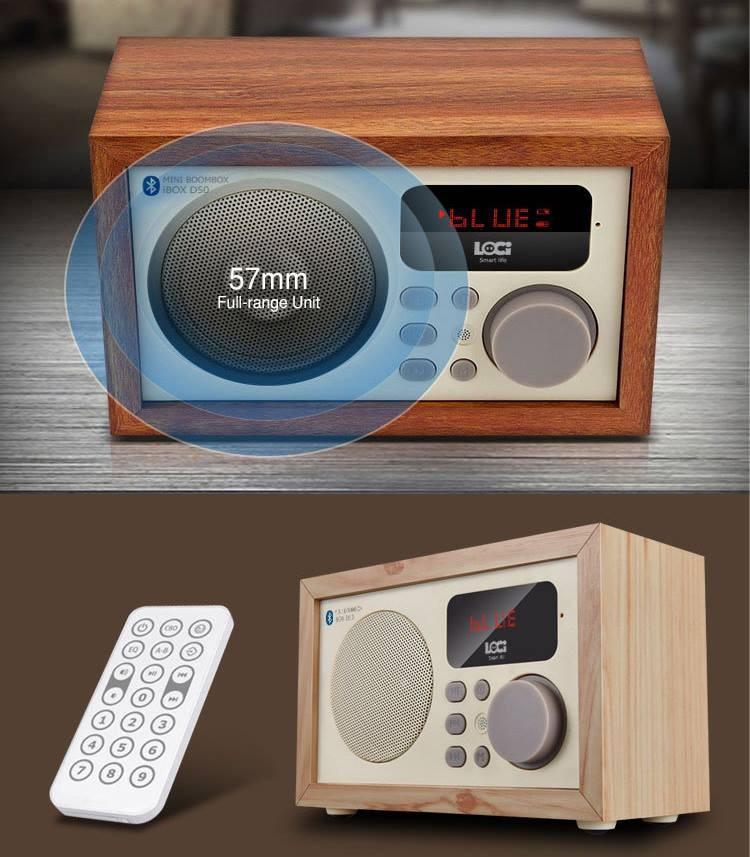 Loa Bluetooth kèm đài FM 14