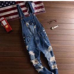 quần jeans yếm rách Mã: ND0872