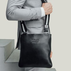 Túi đeo Ipad Da Bò Thật LaForce