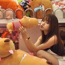 Gấu bông chó Pucco dài 45cm