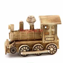 Mô hình đầu tàu xe lửa bằng gỗ