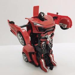 Đồ chơi robot biến hình thành siêu xe điều khiển từ xa