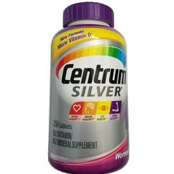 Centrum Silver Ultra Women 50+ - 250 viên Vitamin cho phụ nữ trên 50