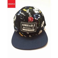 Nón snapback hoa ADIMIRABLE BROOKLYN xanh navy 226 MHH226