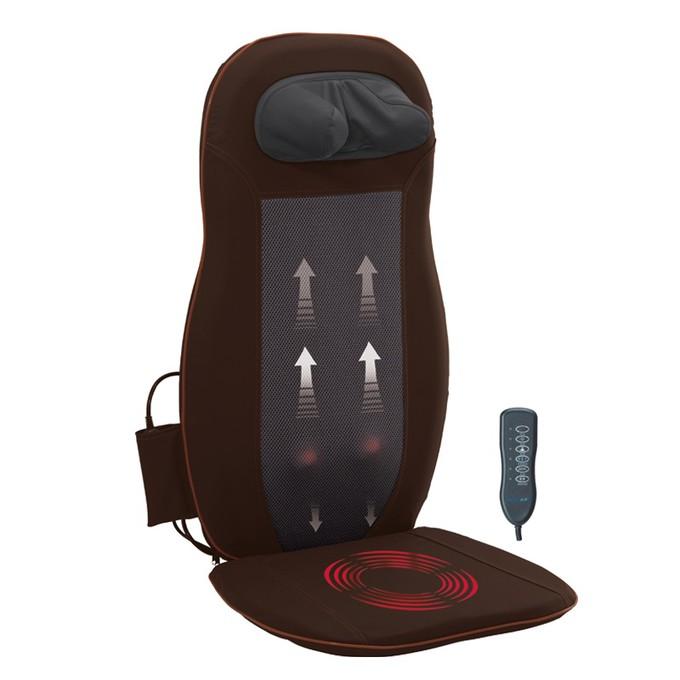 Hình ảnh đệm ghế massage toàn thân hồng ngoại neck back cushion 958PH-C