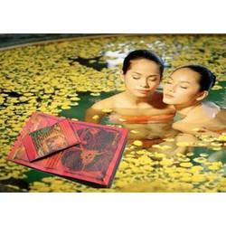 Bộ tắm trăng thái lan hoa cúc