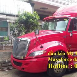 Bán đầu kéo Mỹ Hoàng Huy International máy Maxxforce 450HP model 2013