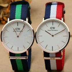 Đồng hồ thời trang mặt tròn dành cho nam nữ