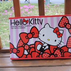 Hộp vải đựng đồ Hello Kitty