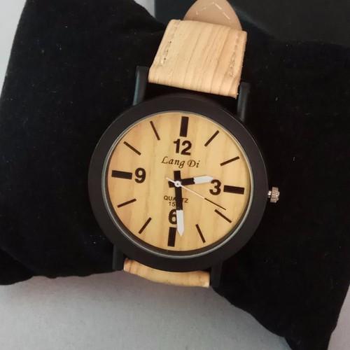 Đồng hồ nam giả gỗ thời trang DSA640