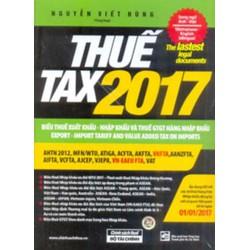 Biểu thuế 2017 -THUẾ TAX 2017 SONG NGỮ ANH - VIỆT