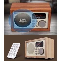 Loa bluetooth đài FM đồng hồ giả cổ Loci