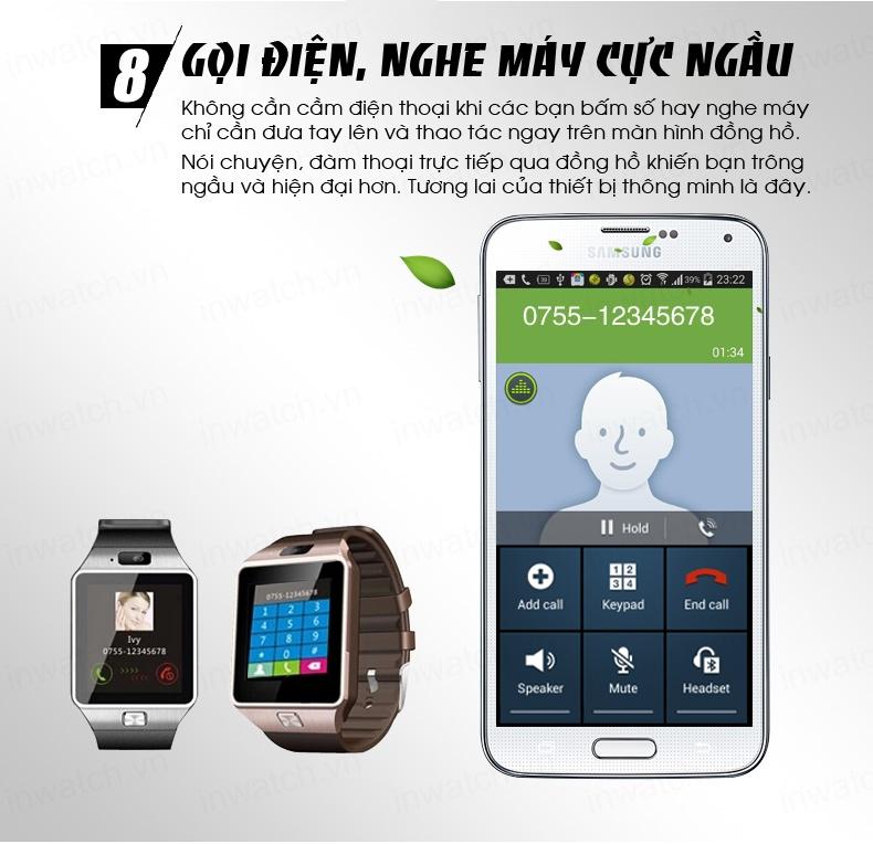 Đồng hồ thông minh Smartwatch InWatch C01 10