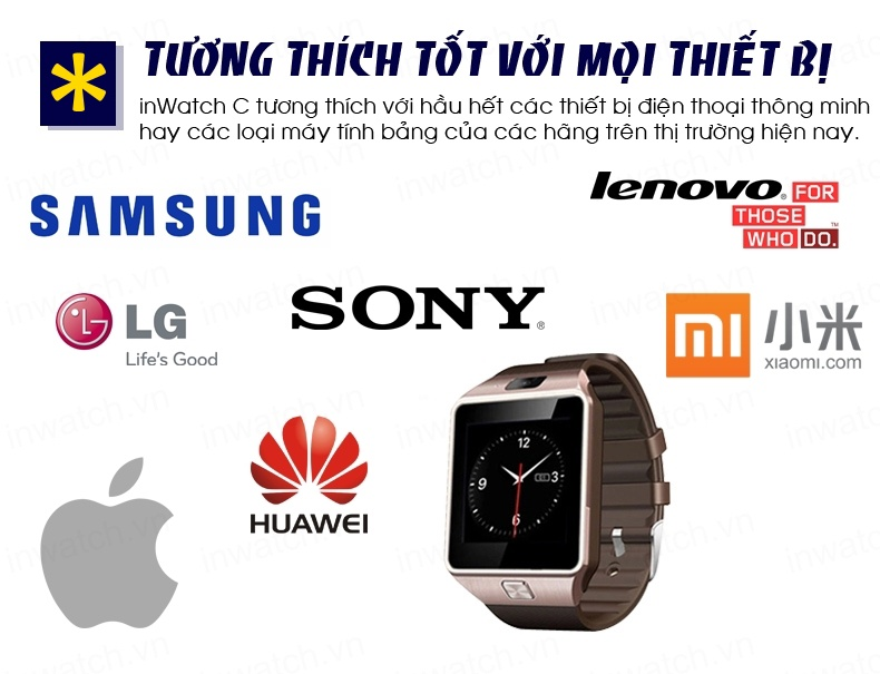 Đồng hồ thông minh Smartwatch InWatch C01 17