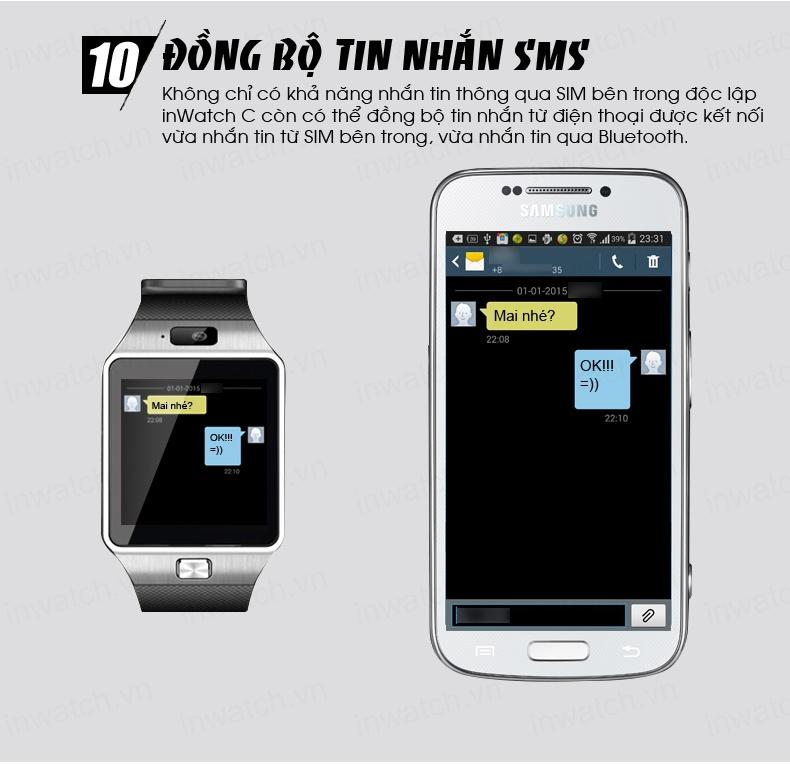 Đồng hồ thông minh Smartwatch InWatch C01 12