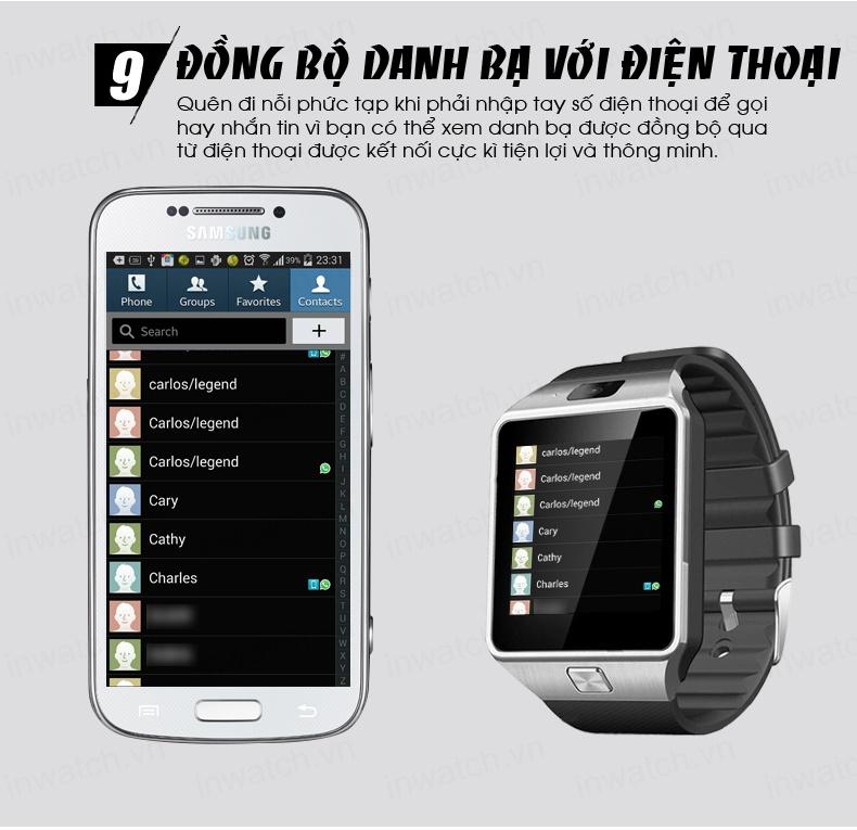 Đồng hồ thông minh Smartwatch InWatch C01 11