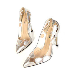 Giày ánh bạc