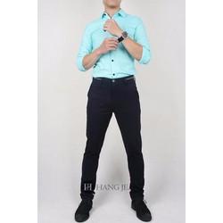Quần kaki nam màu xanh tím than 16KH85