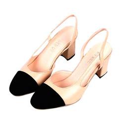 Giày đế vuông