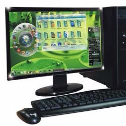 Core 2 E8500, Ram 2G, Ổ cứng 160G, Màn hình LCD 17inch