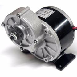 Động cơ giảm tốc 24V 250W chổi than xe điện